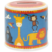 Jungle animals money box