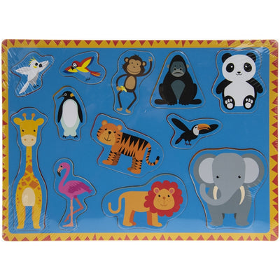 Jungle animals jigsaw