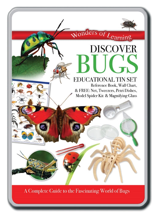 Bugs educational tin