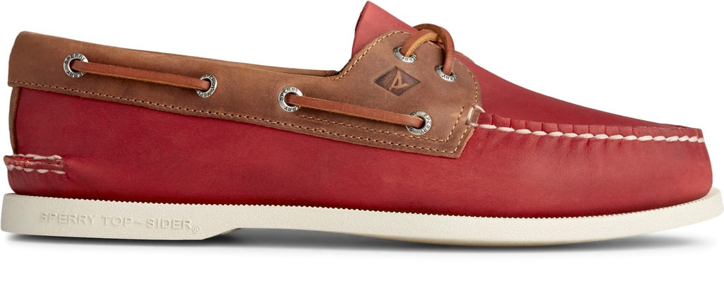 Men's Authentic Original Boat Shoe Oxblood/Riverboat