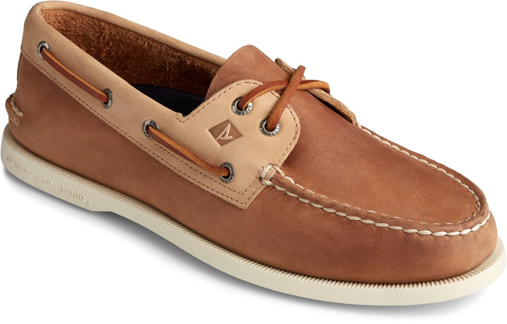 Men's Authentic Original Boat Shoe Sahara/Oatmeal