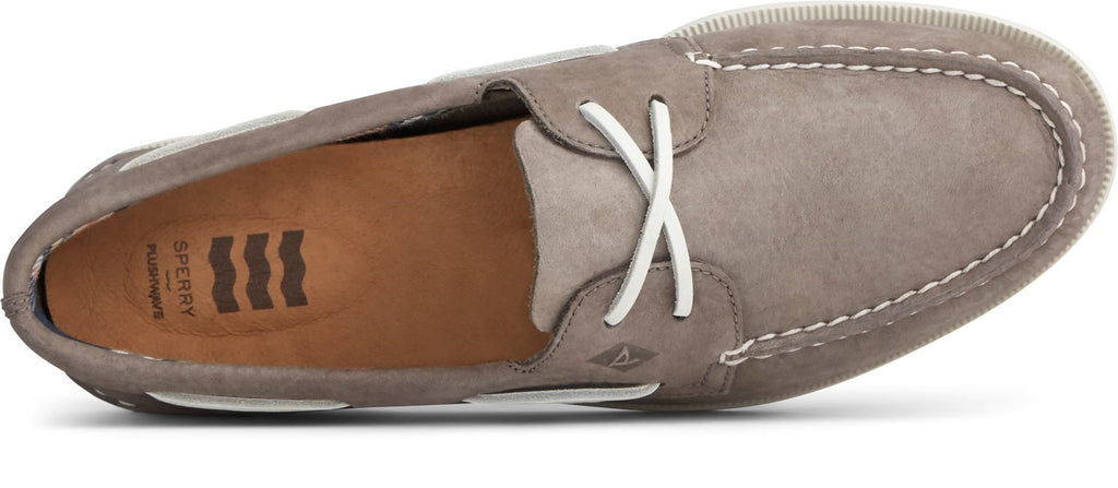 Men's Authentic Original PLUSHWAVE Washable Boat Shoe Grey