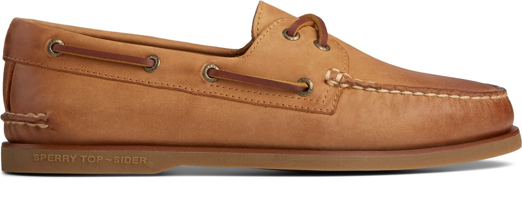 Men's Gold Cup Authentic Original Boat Shoe Tan