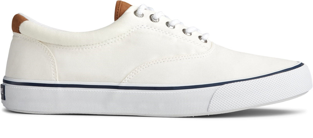 Men's Striper II CVO Canvas Shoe Salt Washed White