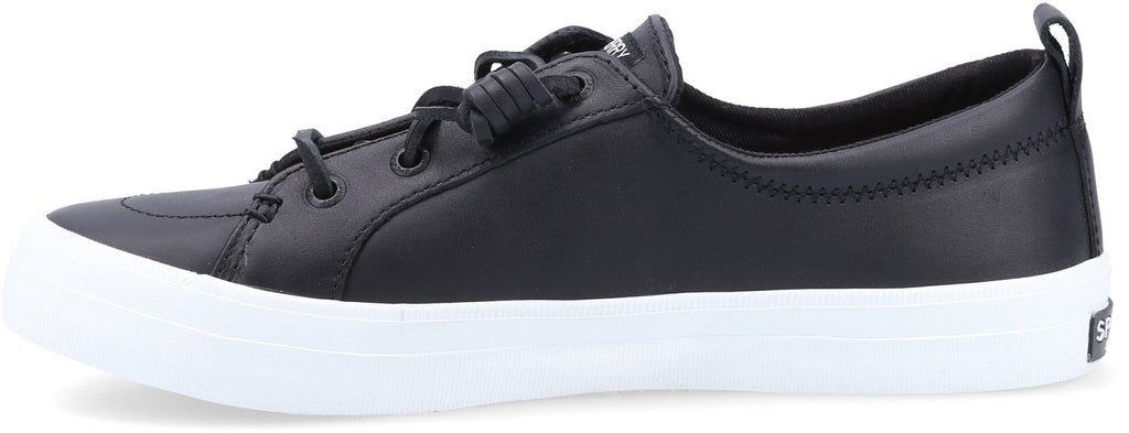Women's Crest Vibe Leather Shoe Black