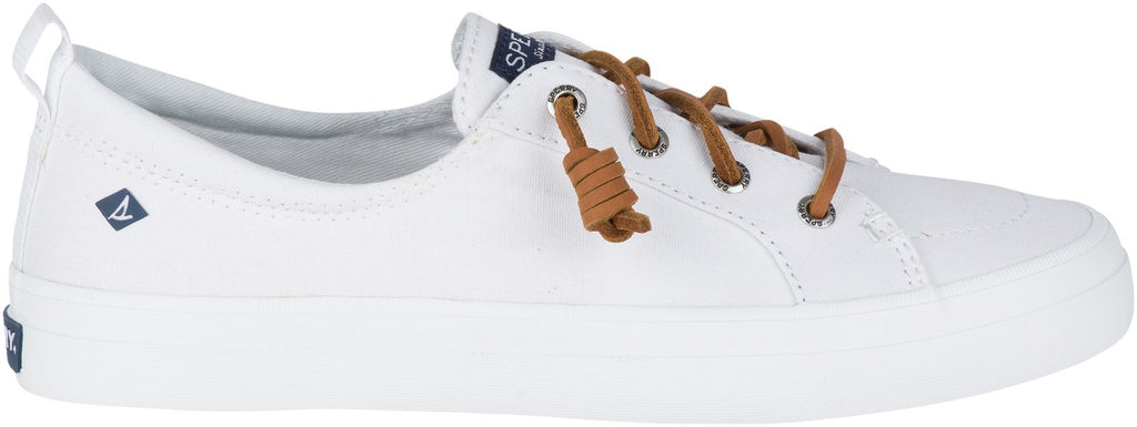 Women's Crest Vibe Canvas Lace Shoes White