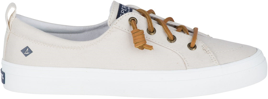 Women's Crest Vibe Canvas Lace Shoes Oat
