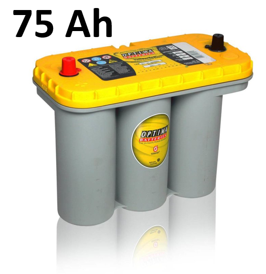 Blei-Gel - Batterie 75 Ah Yellow Top
