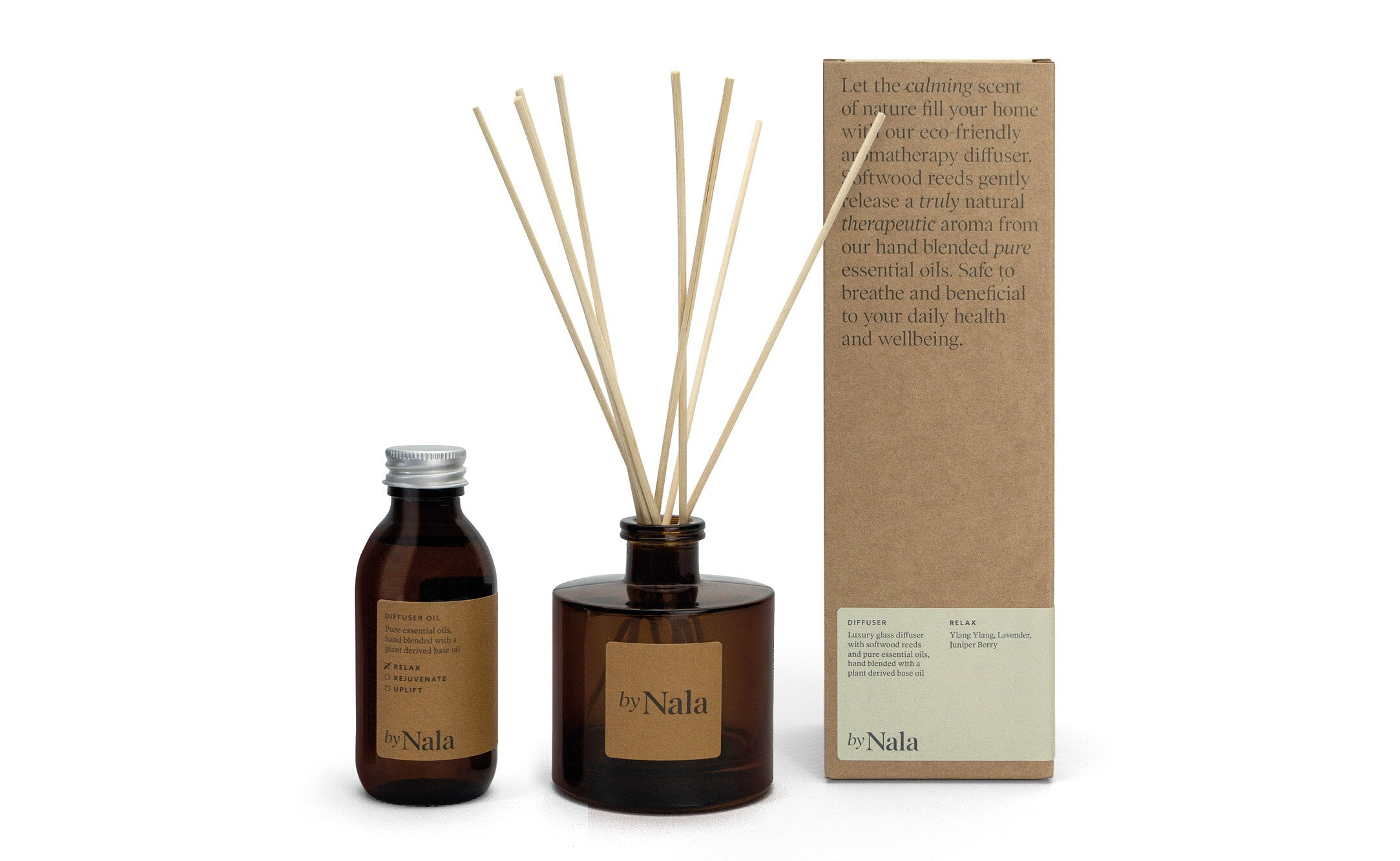 Aromatherapy Wellbeing Diffusers by Nala Uplift
