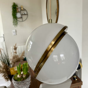 Simple Hemispheric Pendant Light