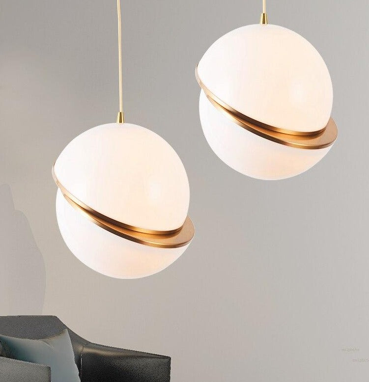 Simple Hemispheric Pendant Light - Decked Deco