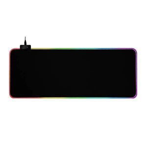 RGB Light Gaming Mouse Pad Keyboard