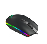 DL-GM1003 RGB Full-color USB  Gaming Mouse 7 Colors Backlight Ergonomic