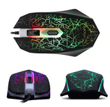 DL-MG500   4 Buttons 2400DPI  USB  Gaming Mouse 7 Colors Backlight Ergonomic