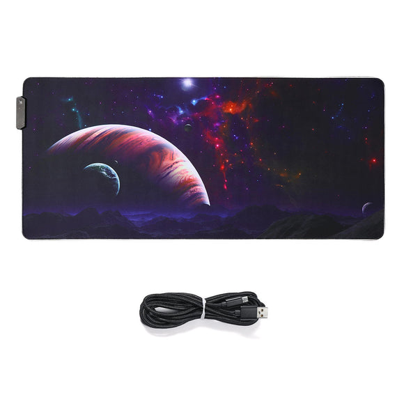 The Vast Sky USB Wired RGB Colorful Backlit LED Mouse Pad