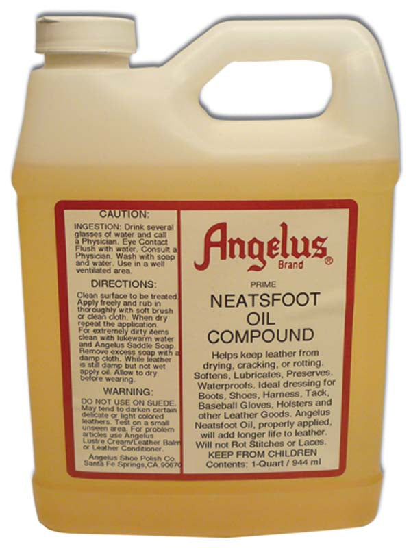 ANGELUS NEATSFOOT OIL COMPOUND QTS