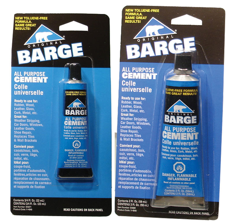 BARGE CEMENT TUBES LARGE 2 OZ DA081