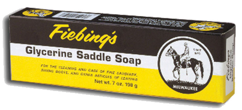 FIEBING'S GLYCERINE SADDLE SOAP 7 OZ. BAR