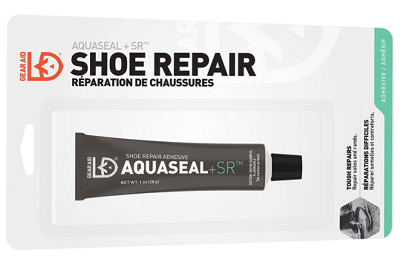 AQUASEAL + SR SHOE REPAIR 1 OZ. FREESOLE REPAIRER