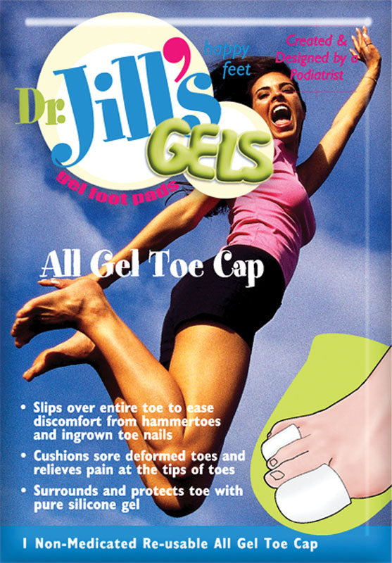 DR. JILL'S ALL GEL TOE CAP LARGE (1 PER PACK)
