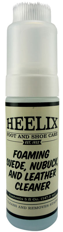 HEELIX FOAMING SUEDE NUBUCK AND LEATHER CLEANER