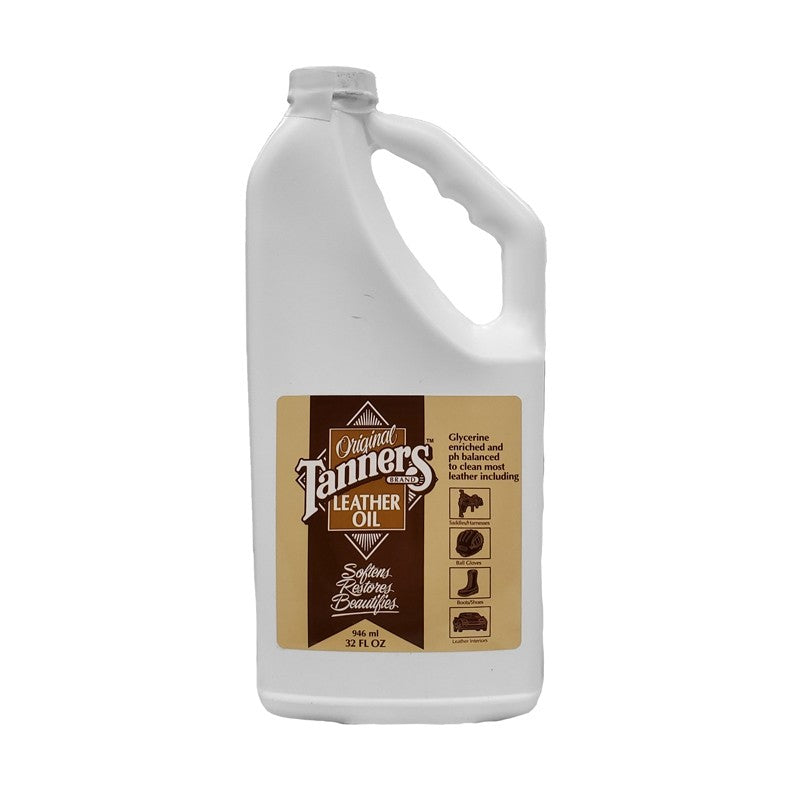 TANNERS LEATHER OIL 32 OZ.