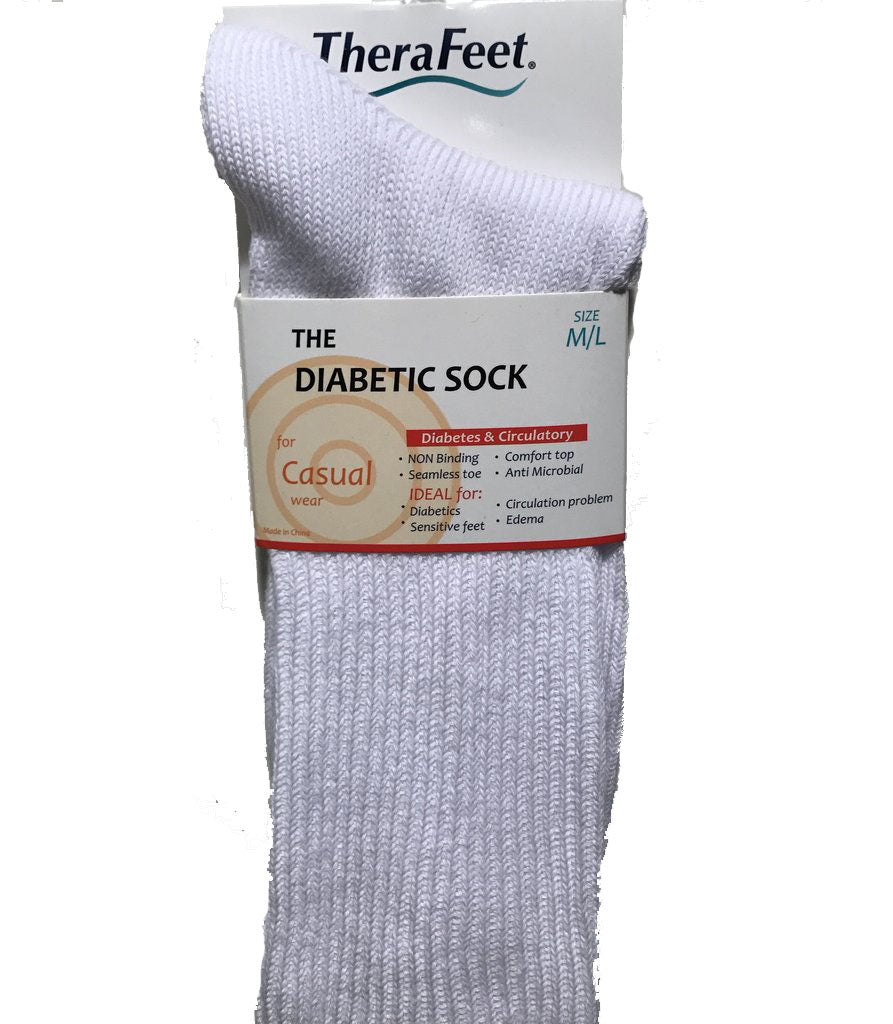 DIABETIC DRESS SOCK 9 X 2 RIB
