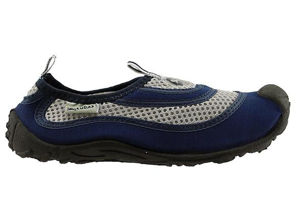 Cudas Flatwater Kids Water Shoes - Navy Grey