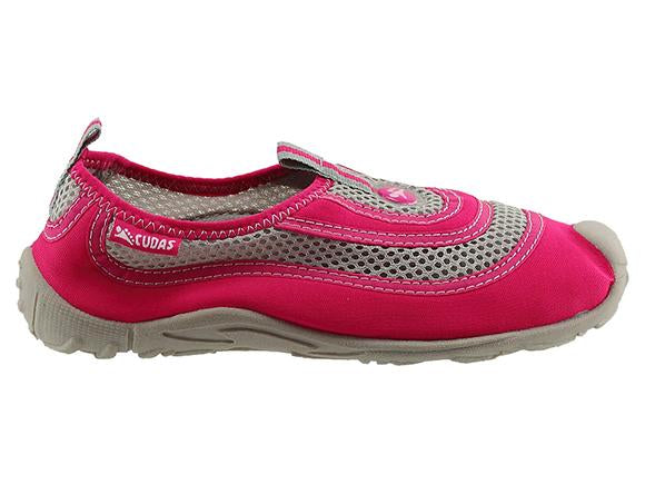 Cudas Flatwater Kids Water Shoes - Pink