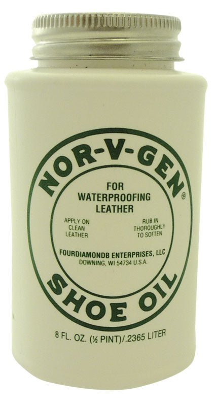 NOR-V-GEN SHOE OIL 8 OZ