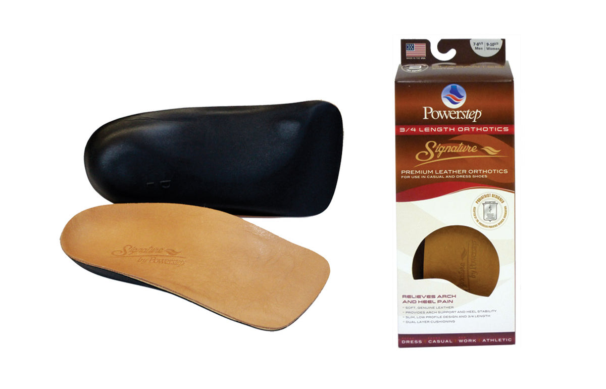 POWERSTEP SIGNATURE LEATHER 3/4