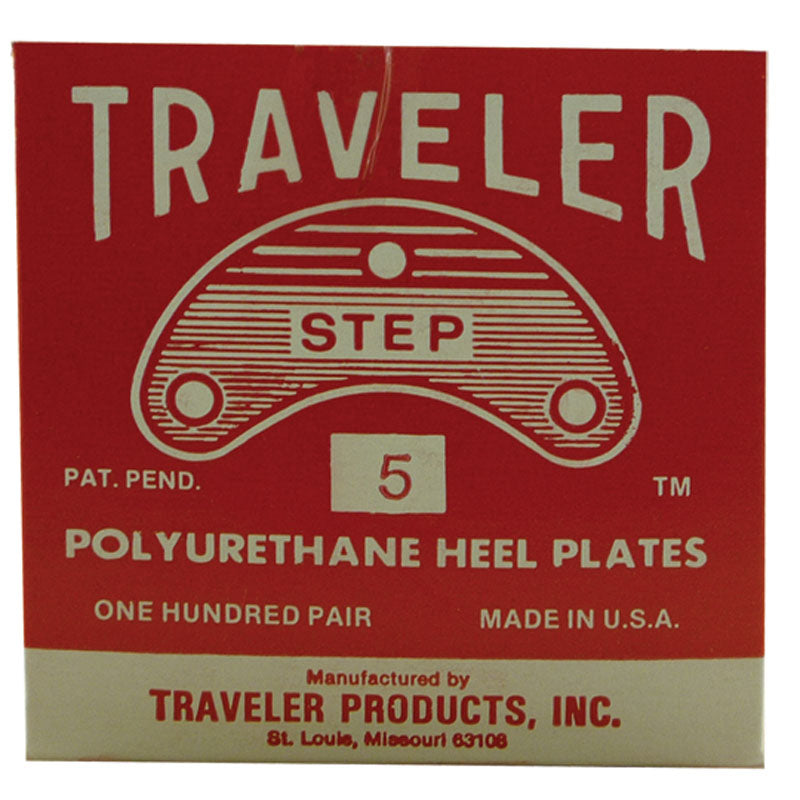 TRAVELER RED POLY PLATE (100/BX )