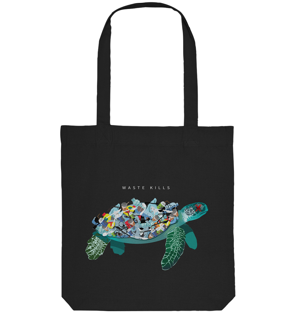 100% Recycled Bag - Plastic Turtle