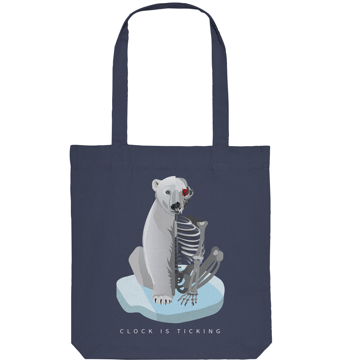 100% Recycled Bag - Starving Polarbear
