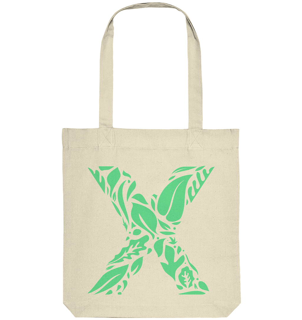 100% Recycled Bag - X Logo