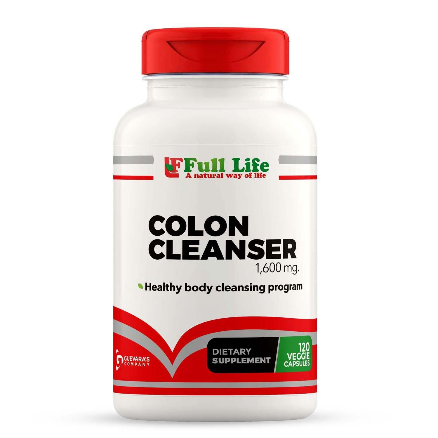 Colon Cleanser - 120 Capsules - Full Life Direct