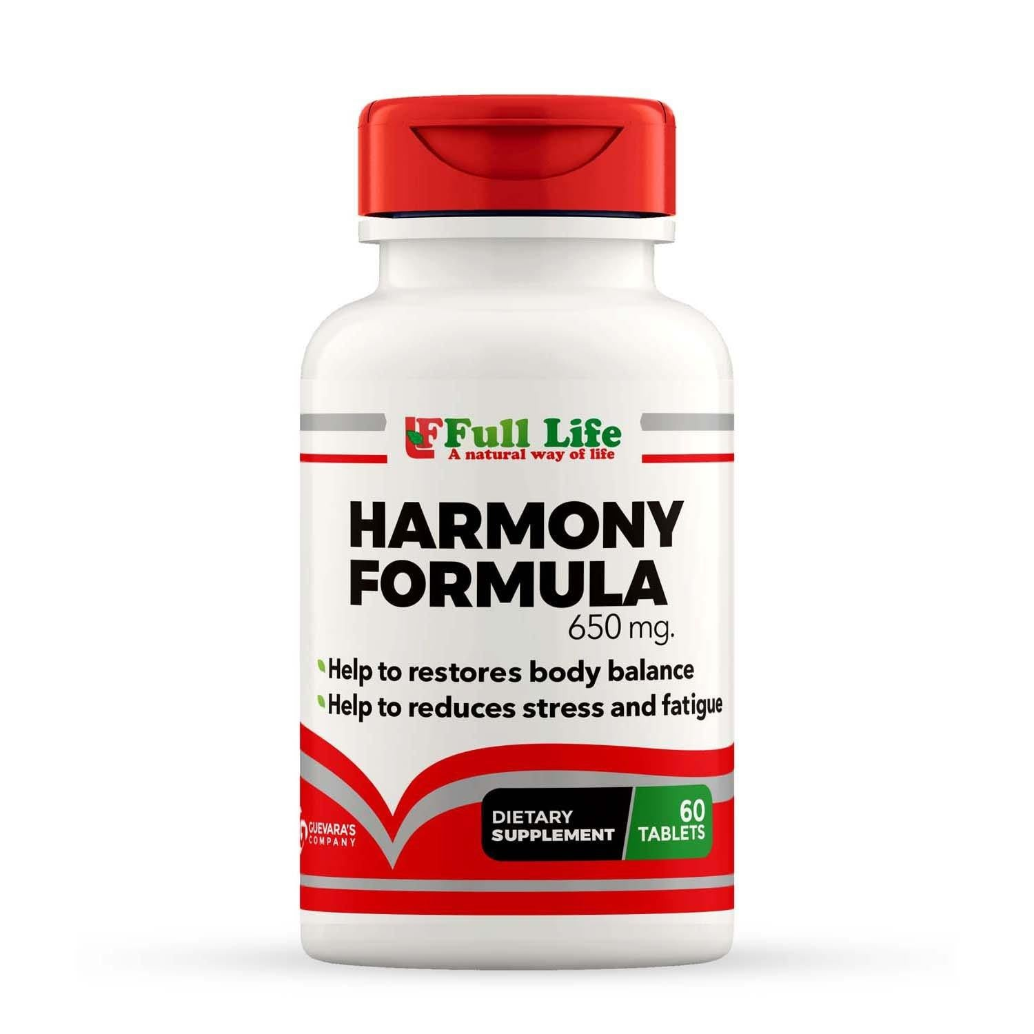Harmony Formula - 60 Tablets - Full Life Direct