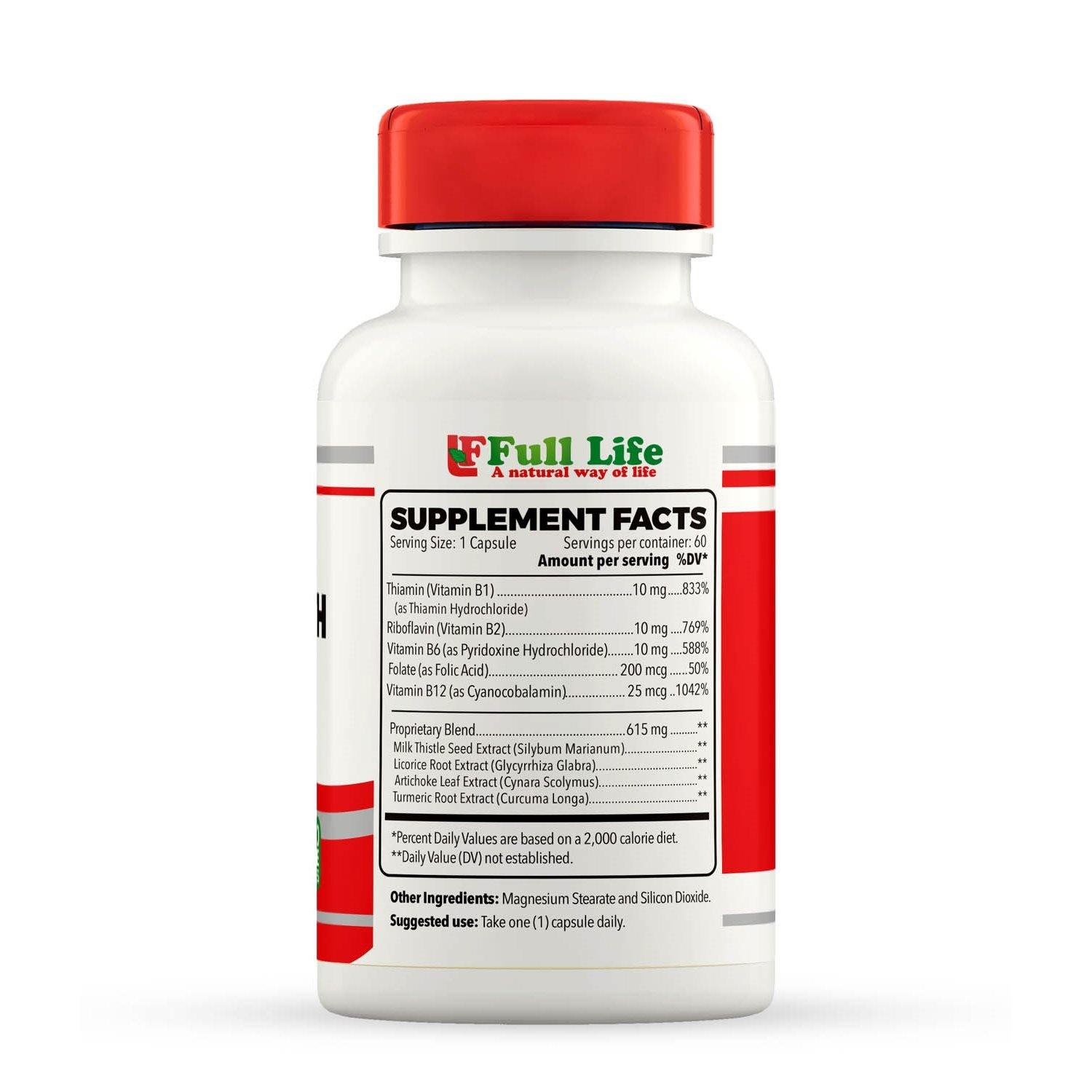 Liver Health Formula - 60 Capsules - Full Life Direct