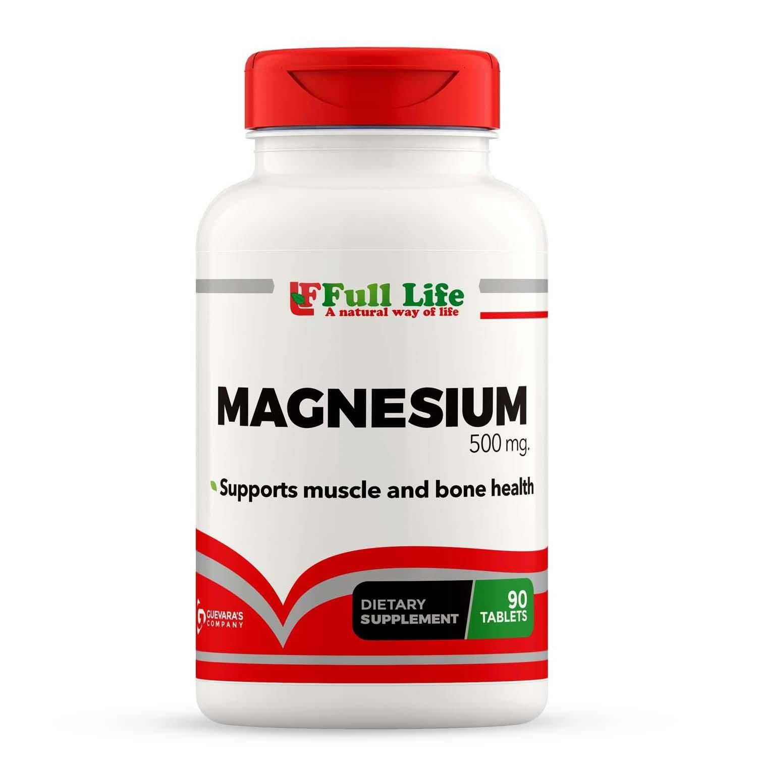 Magnesium - 90 Tablets - Full Life Direct