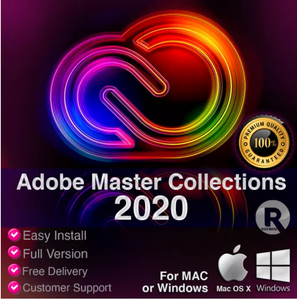 Adobe Master Collection CC 2020 Mac