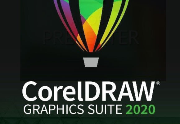 CorelDRAW Graphics Suite 2020 for MAC (1 Year Subscription)