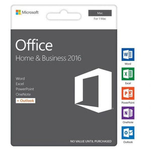 Microsoft Office 2016 Home and Business (MAC OS)