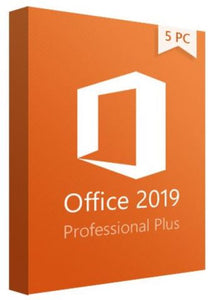 MICROSOFT OFFICE 2019 PRO PLUS FOR 5 PCs (Windows 10) OEM
