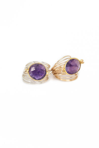 Torrey Ring in Amethyst