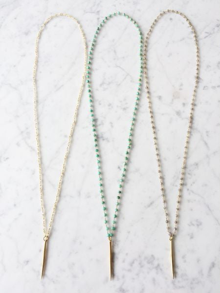 Los Olivos Long Necklace