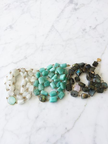 Hana Surf and Sand Wrap Bracelet/Necklace