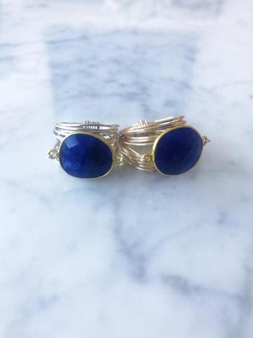 Torrey Ring in Sapphire