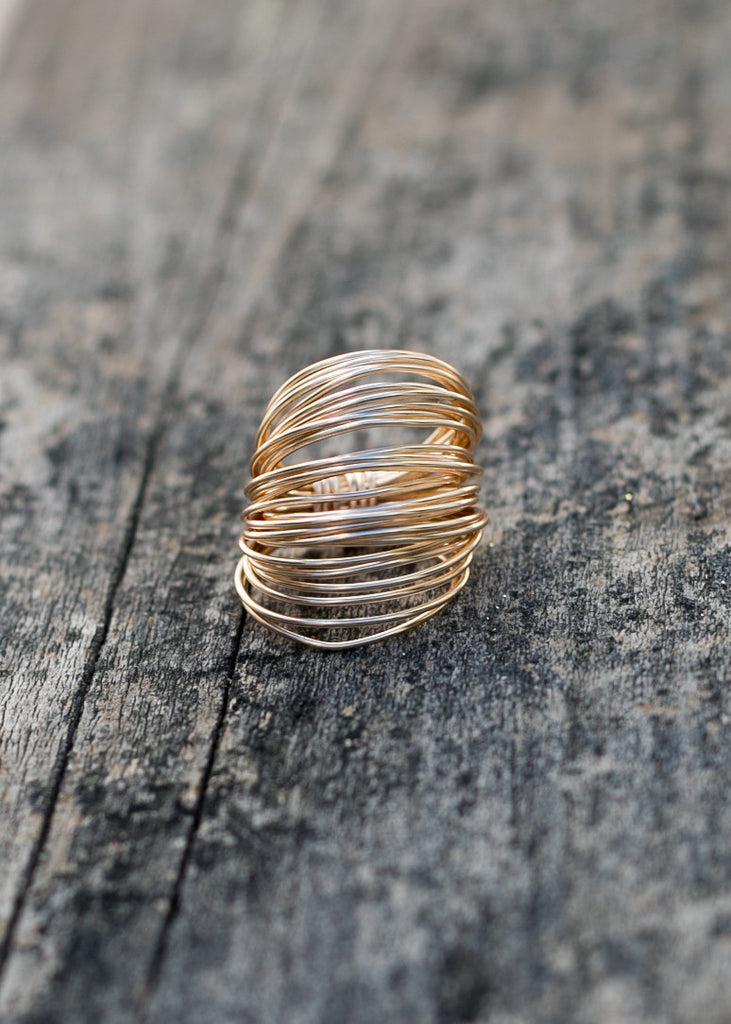 The Marcia Wire Wrap Ring