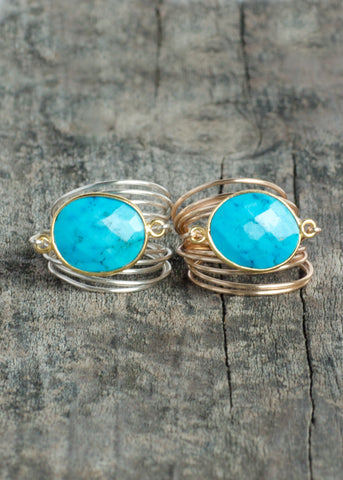 The Torrey Ring In Turquoise