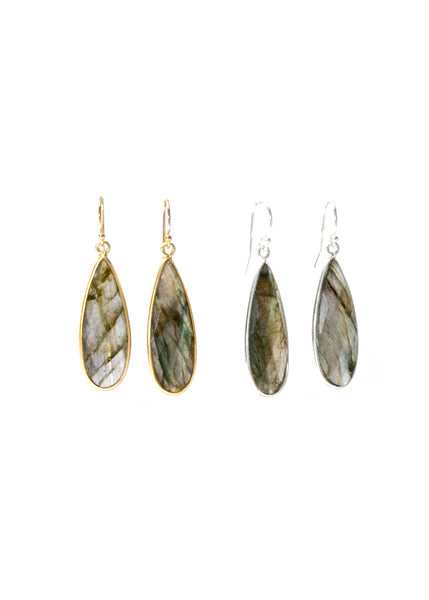 The St. Barth's Earrings Labradorite